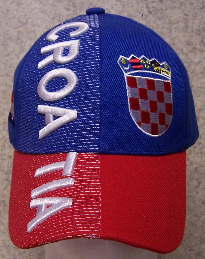 Croatia Adjustable Size International Flag Baseball Cap thumbnail
