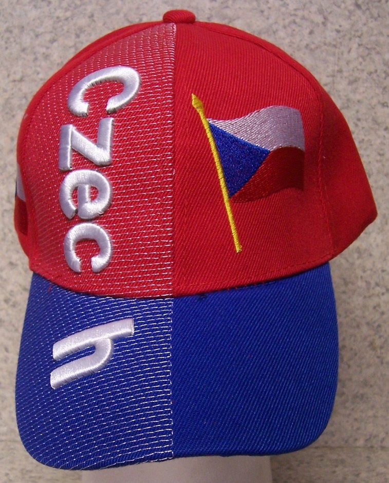 Czech Republic Adjustable Size International Flag Baseball Cap thumbnail