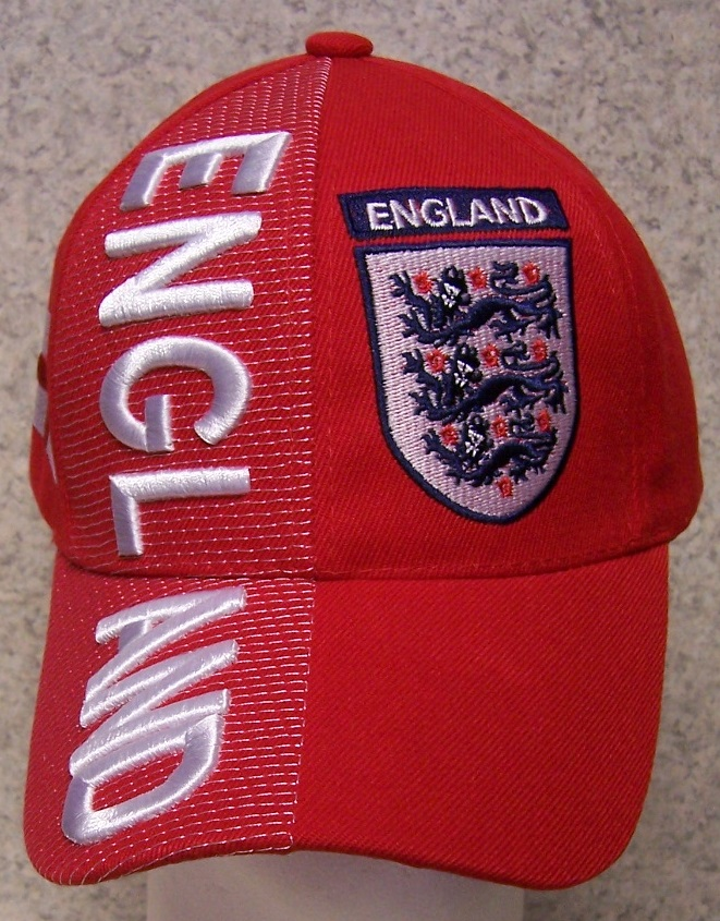 England Adjustable Size International Flag Baseball Cap thumbnail
