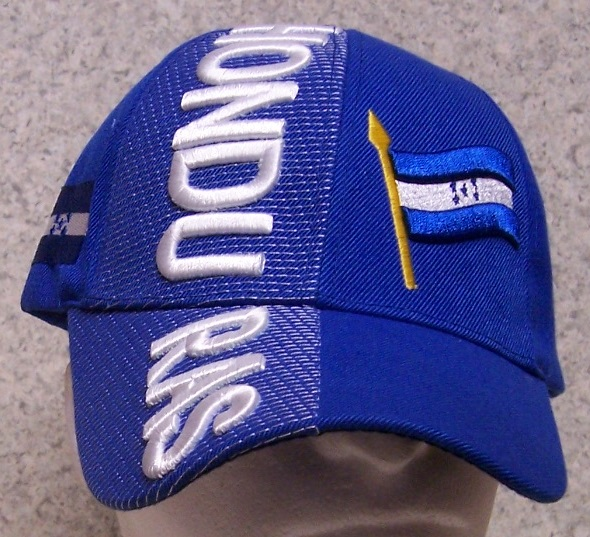 Honduras Adjustable Size International Flag Baseball Cap thumbnail