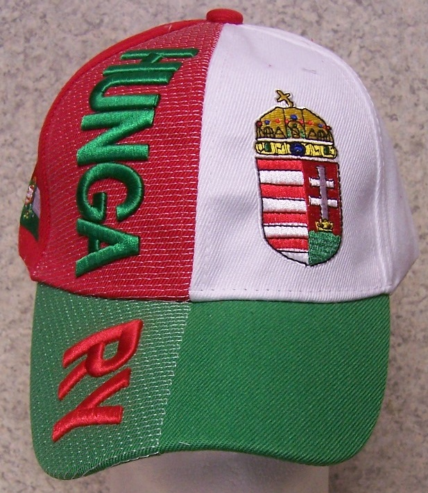 Hungary Adjustable Size International Flag Baseball Cap thumbnail