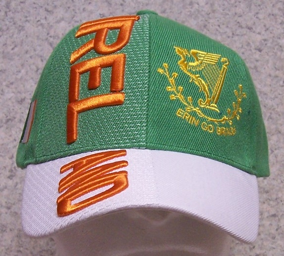 Ireland Adjustable Size International Flag Baseball Cap thumbnail
