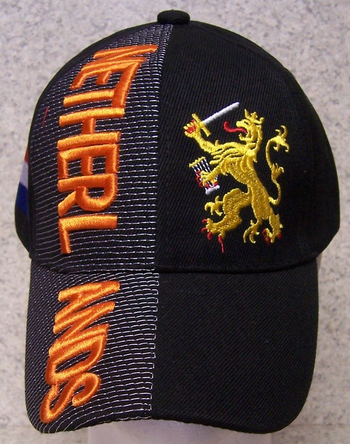 Netherlands Adjustable Size International Flag Baseball Cap thumbnail