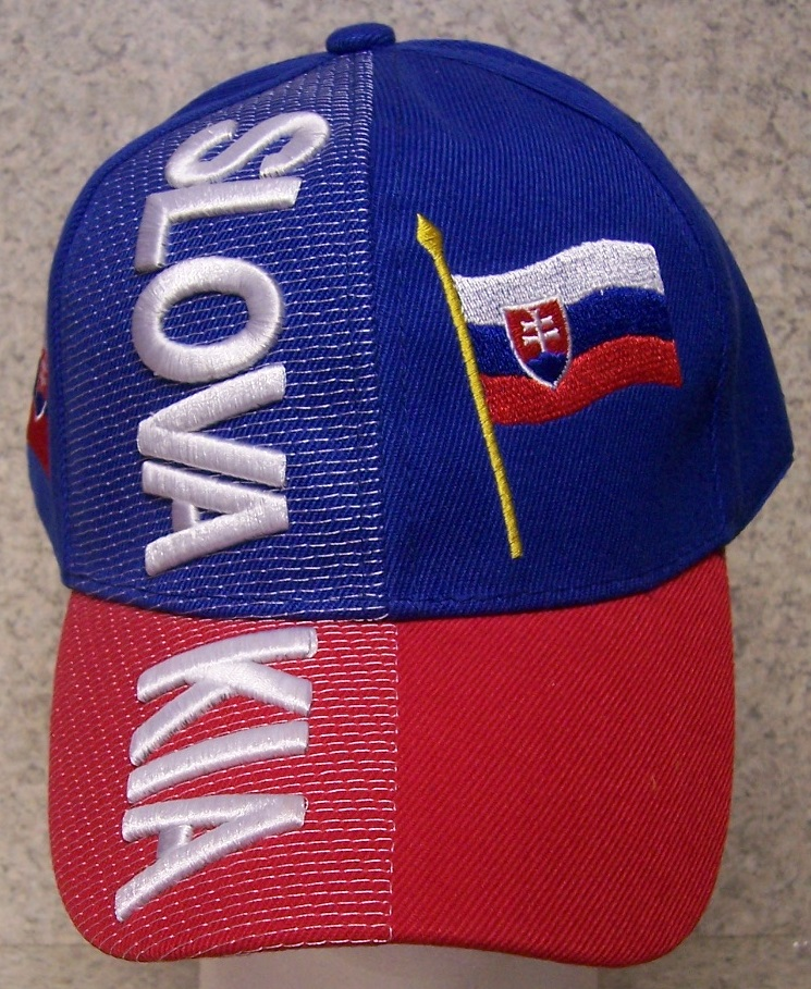 Slovakia Adjustable Size International Flag Baseball Cap thumbnail