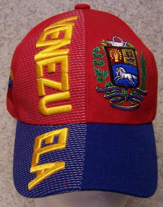 Venezuela Adjustable Size International Flag Baseball Cap thumbnail
