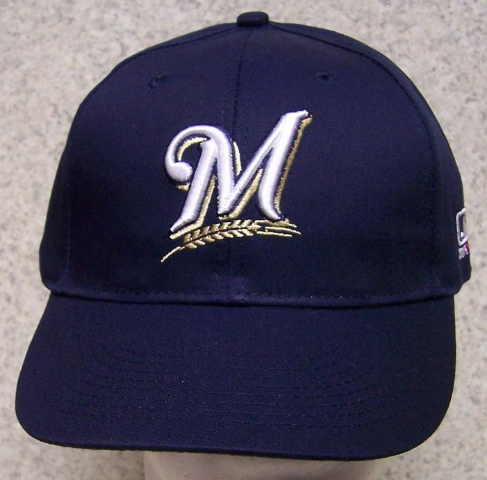 Milwaukee Brewers MLB Adjustable Size Major League Baseball Cap thumbnail