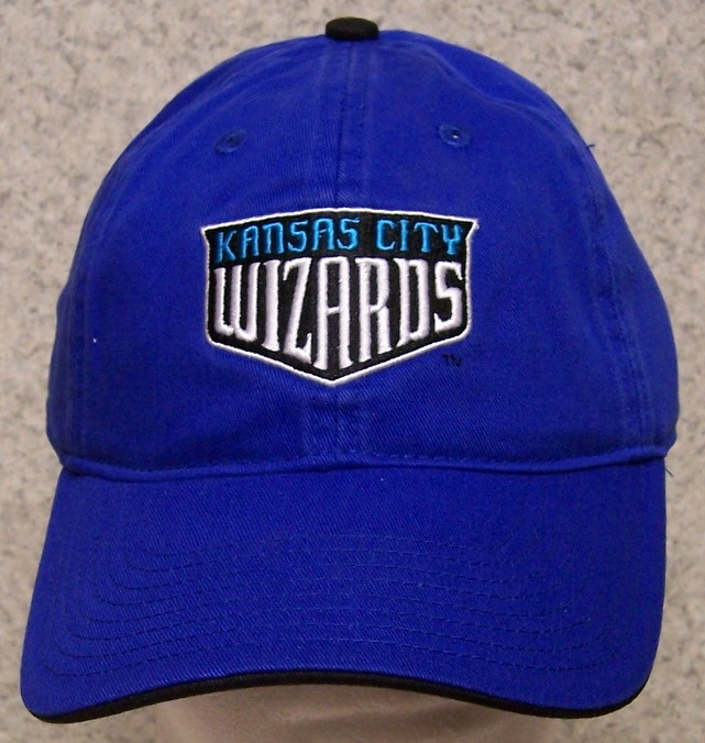 Kansas City Wizards MLS Adjustable Size Major League Soccer Baseball Cap thumbnail