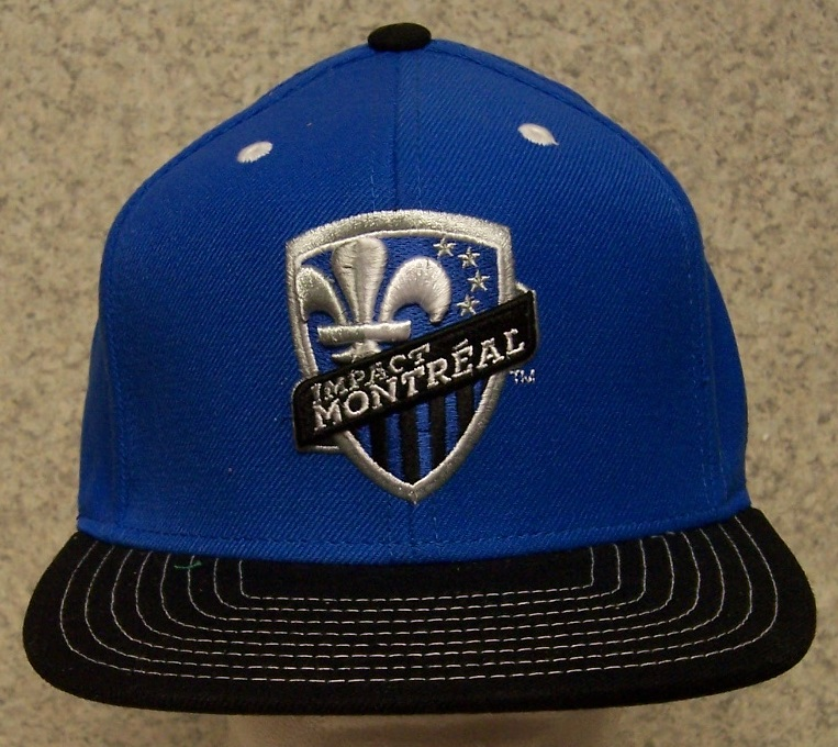Montreal Impact MLS Adjustable Size Major League Soccer Baseball Cap thumbnail