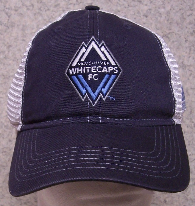 Vancouver Whitecaps MLS Adjustable Size Major League Soccer Baseball Cap thumbnail