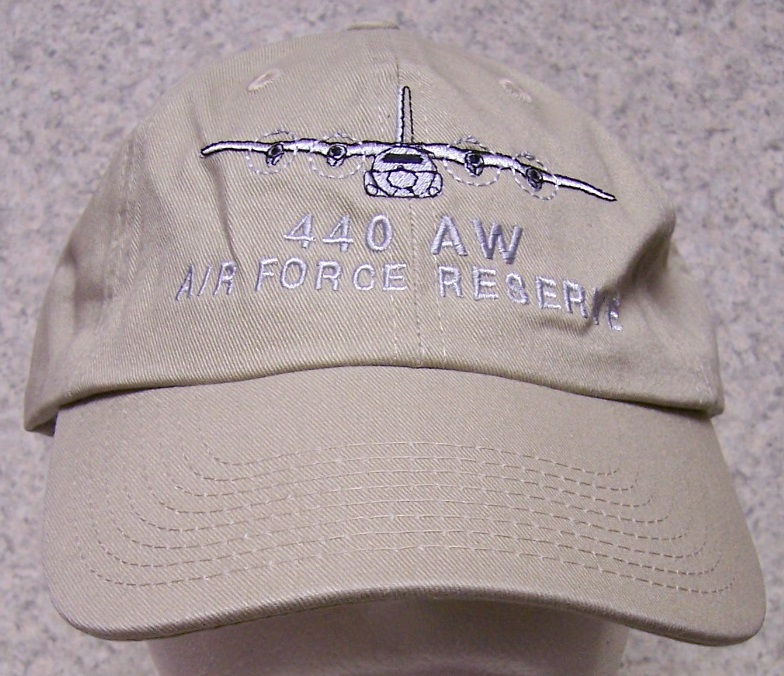 7b2e8543343b2 440th Air Wing Air Force Reserve Adjustable Size Military Baseball Cap  thumbnail
