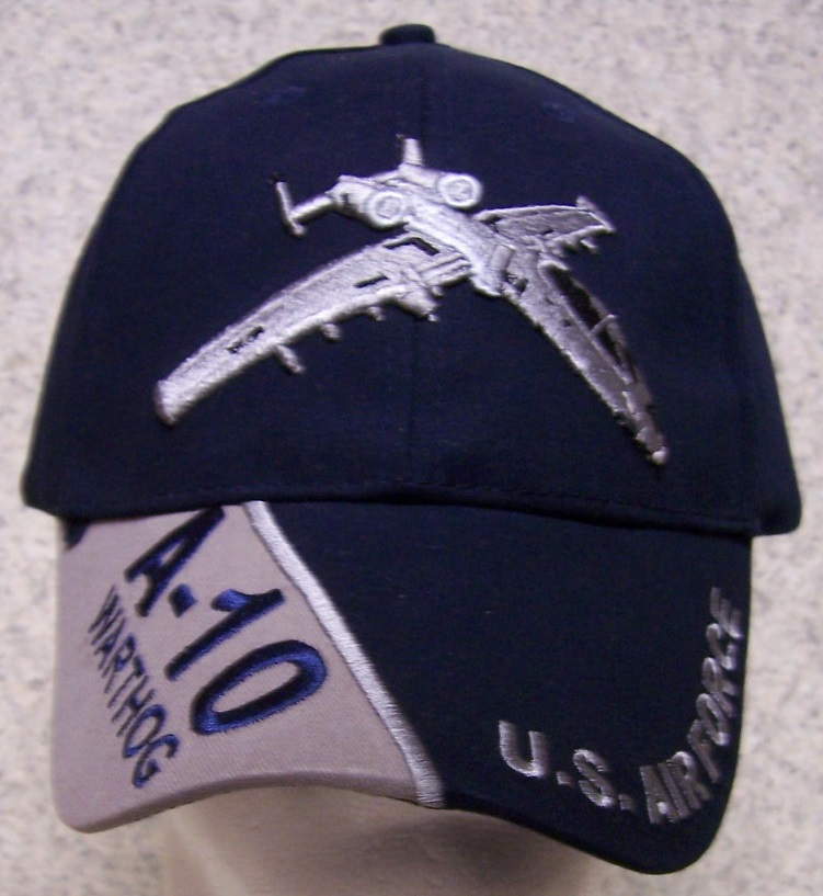 A-10 Warthog Adjustable Size Military Baseball Cap thumbnail