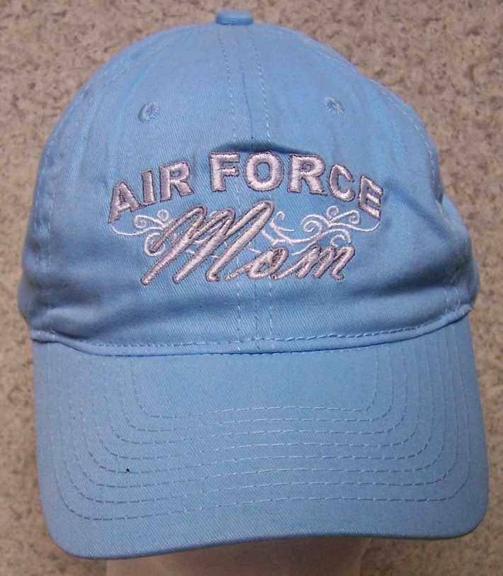 Air Force Mom Air Force Adjustable Size Military Baseball Cap thumbnail
