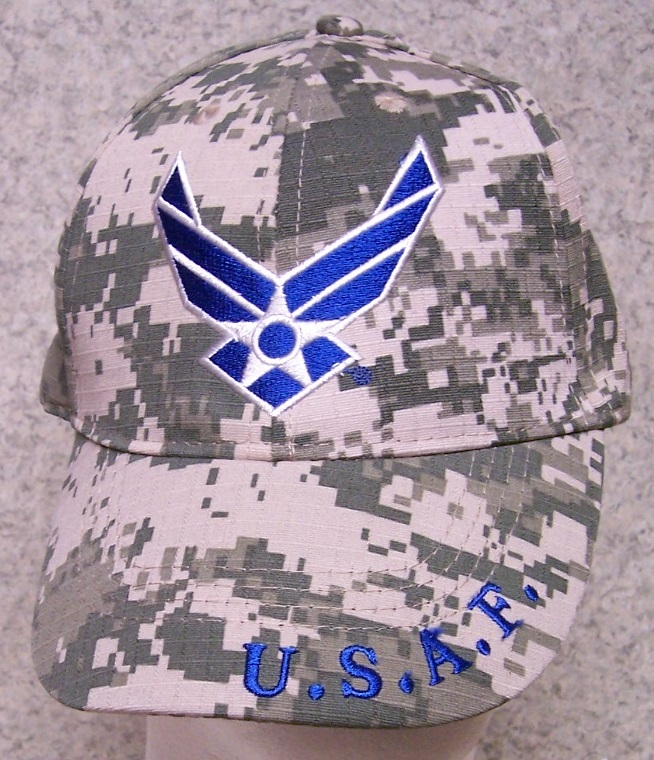 Air Force Wings Adjustable Size Military Baseball Cap thumbnail