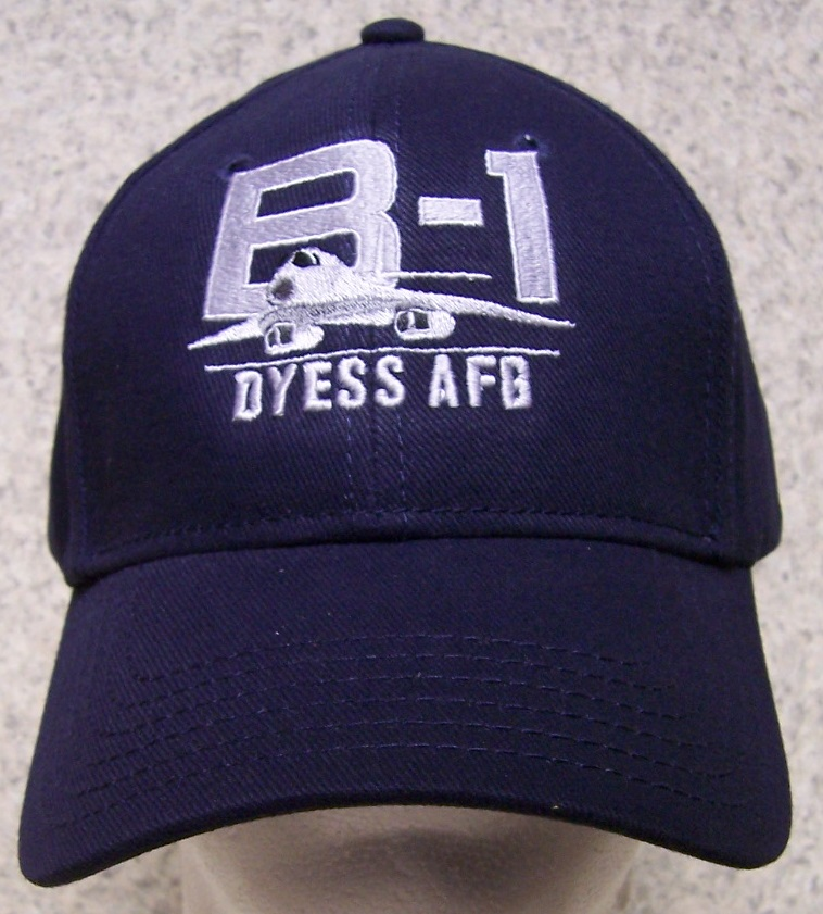 B-1 Lancer Dyess Air Force Base Adjustable Size Military Baseball Cap thumbnail