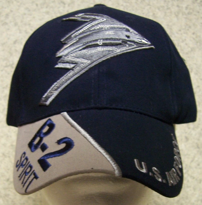 B-2 Spirit Adjustable Size Military Baseball Cap thumbnail
