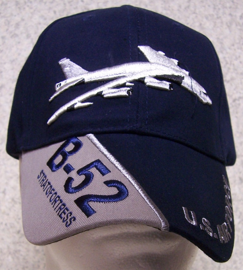 B-52 Stratofortress Adjustable Size Military Baseball Cap thumbnail
