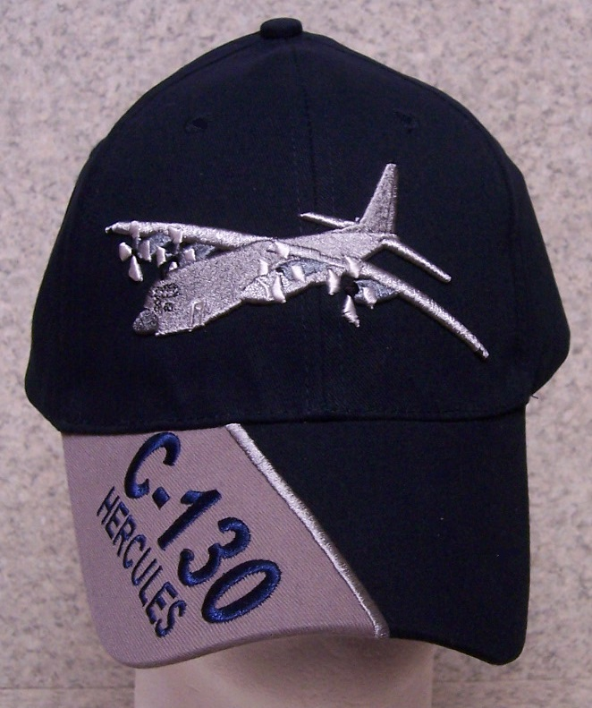 C-130 Hercules Adjustable Size Military Baseball Cap thumbnail
