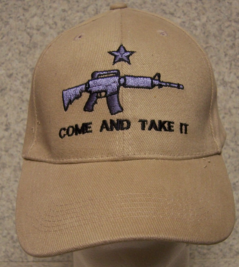 Come and Take It Second Amendment Adjustable Size Baseball Cap thumbnail