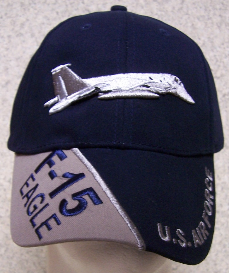 F-15 Eagle Adjustable Size Military Baseball Cap thumbnail