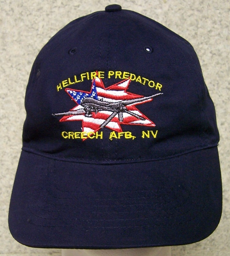 Hellfire Predator Drone Adjustable Size Military Baseball Cap thumbnail