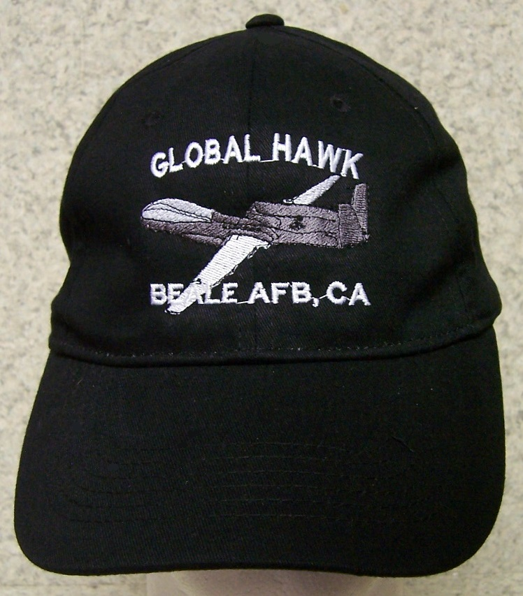 RQ-4 Global Hawk Adjustable Size Military Baseball Cap thumbnail