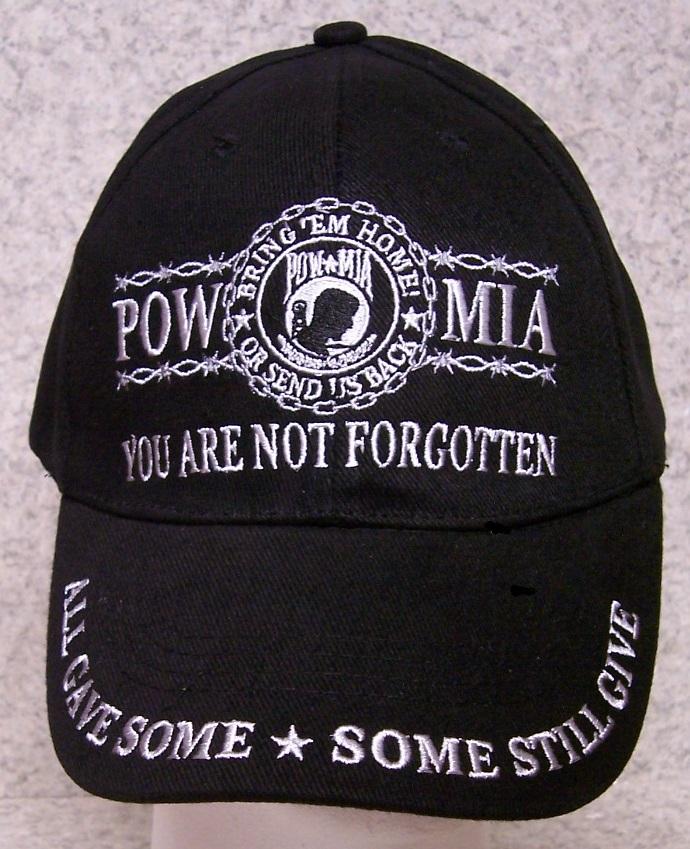pow mia adjustable size military baseball cap thumbnail - Pow Mia Hat