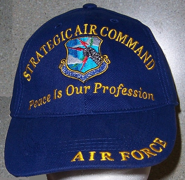 Strategic Air Command Air Force Adjustable Size Military Baseball Cap thumbnail