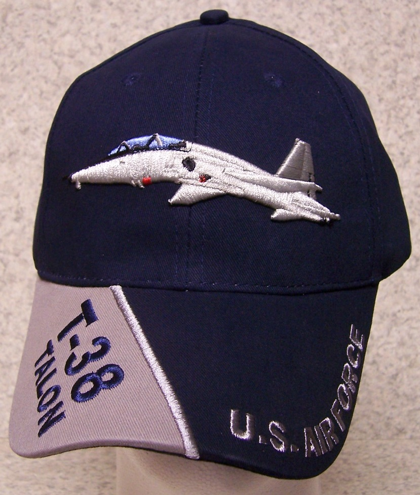 T38 Talon Adjustable Size Military Baseball Cap thumbnail