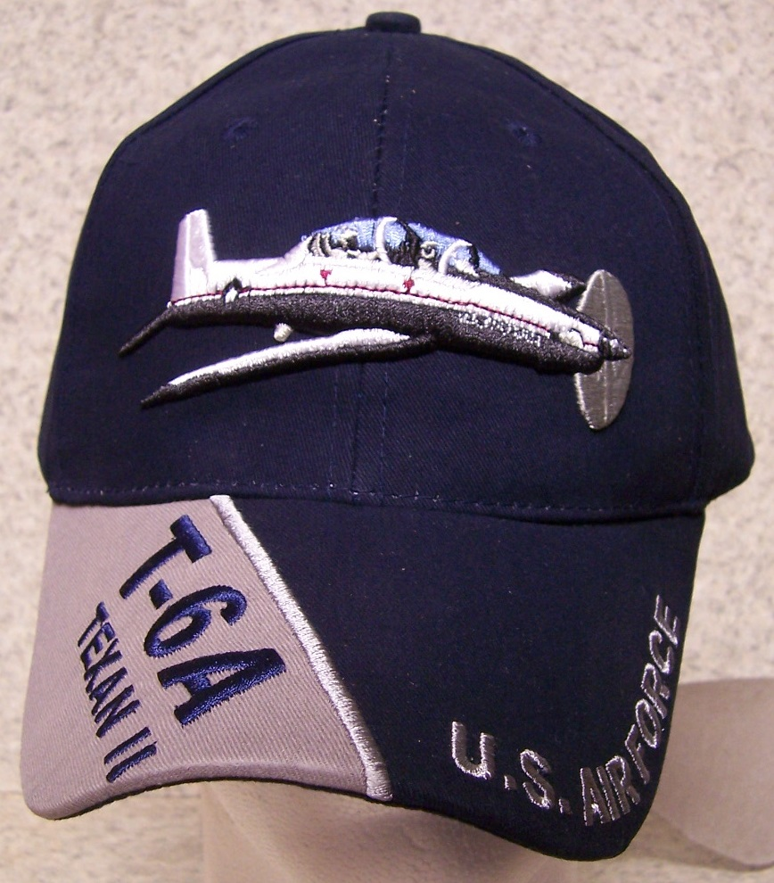 T6A Texan II Adjustable Size Military Baseball Cap thumbnail
