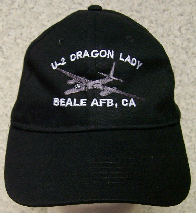 U-2 Dragon Lady Spyplane Adjustable Size Military Baseball Cap thumbnail