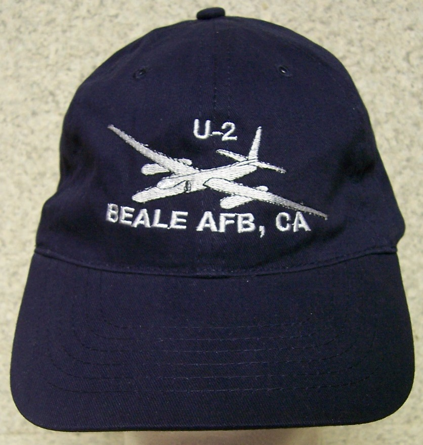 U-2 Spyplane Adjustable Size Military Baseball Cap thumbnail