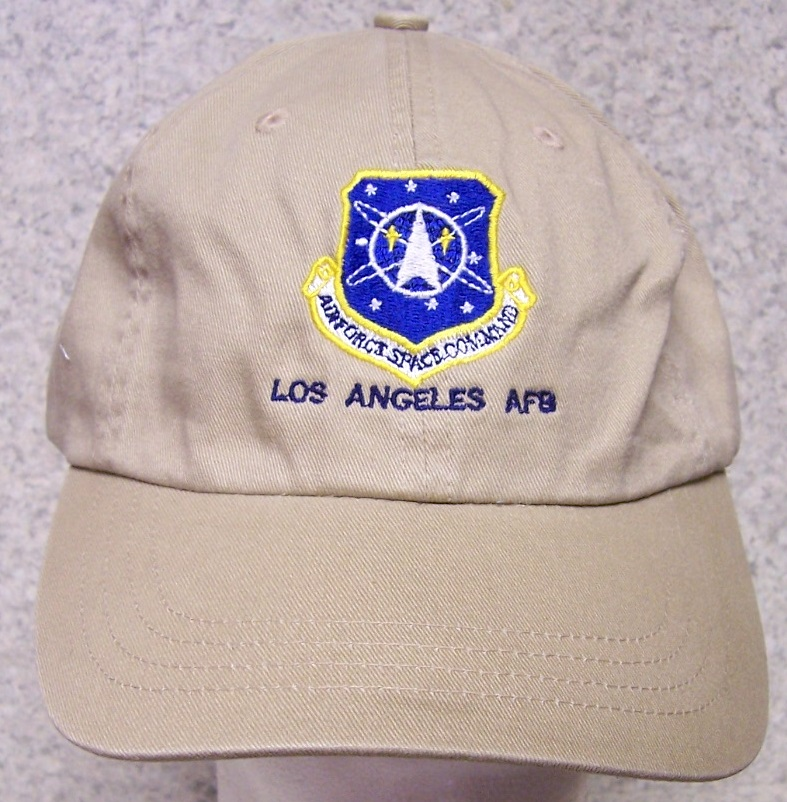 Los Angeles Air Force Base Air Force Adjustable Size Military Baseball Cap thumbnail