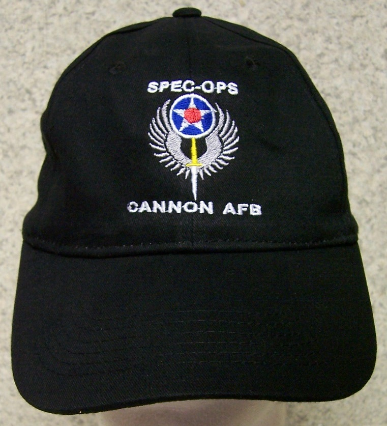3afdf73b1b1 Cannon Air Force Base Air Force Adjustable Size Military Baseball Cap  thumbnail