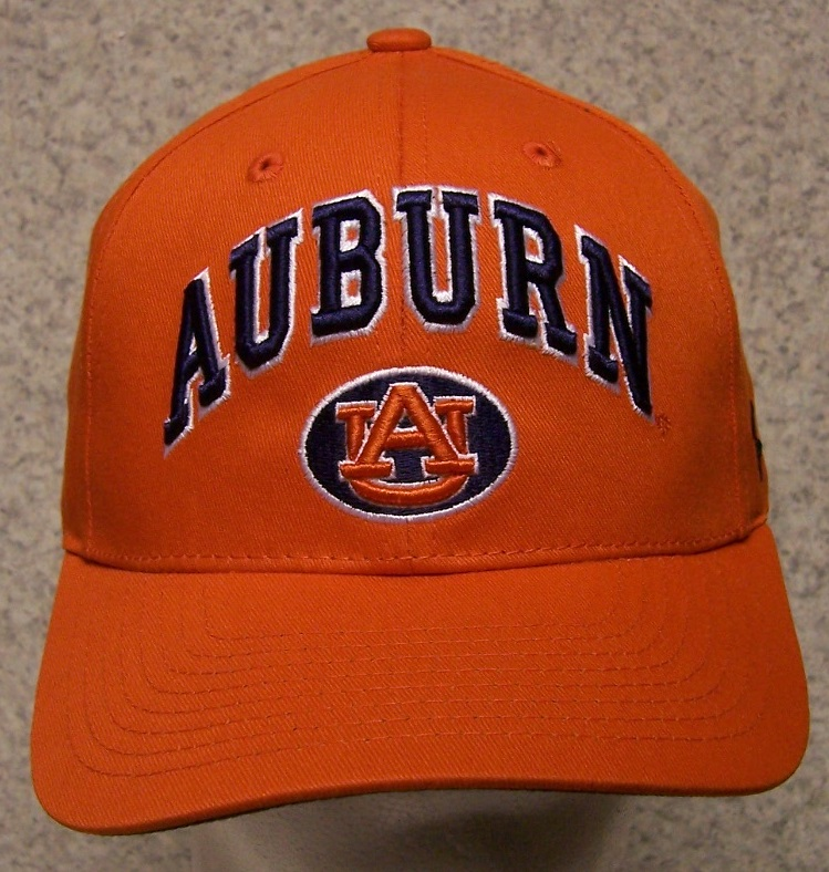 Auburn Tigers NCAA Adjustable Size National Collegiate Athletic Association Baseball Cap thumbnail