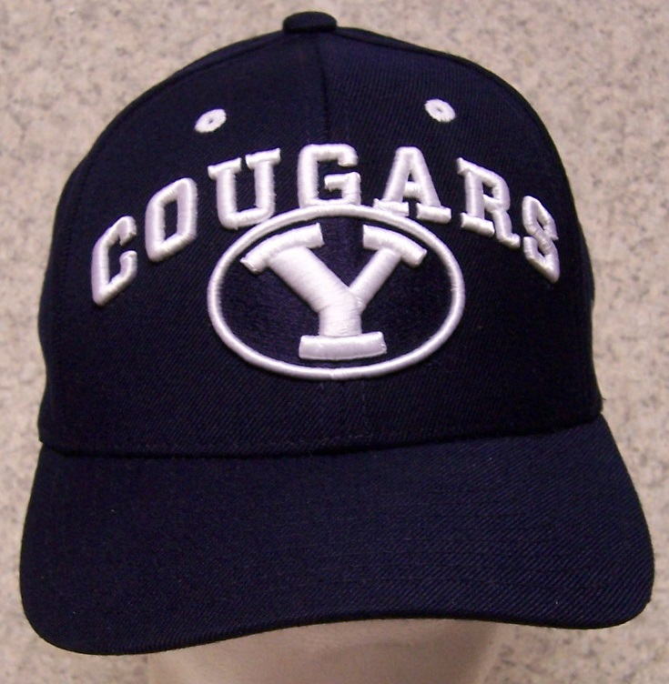 BYU Brigham Young Cougars NCAA Adjustable Size National Collegiate Athletic Association Baseball Cap thumbnail