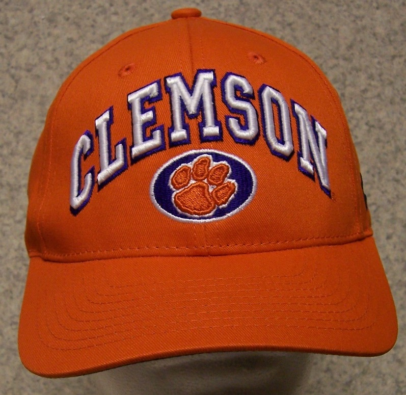 Clemson Tigers NCAA Adjustable Size National Collegiate Athletic Association Baseball Cap thumbnail