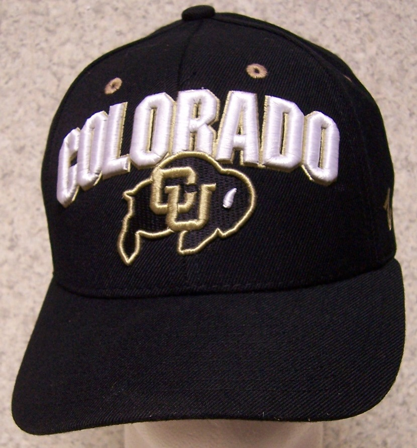 Colorado Buffaloes NCAA Adjustable Size National Collegiate Athletic Association Baseball Cap thumbnail