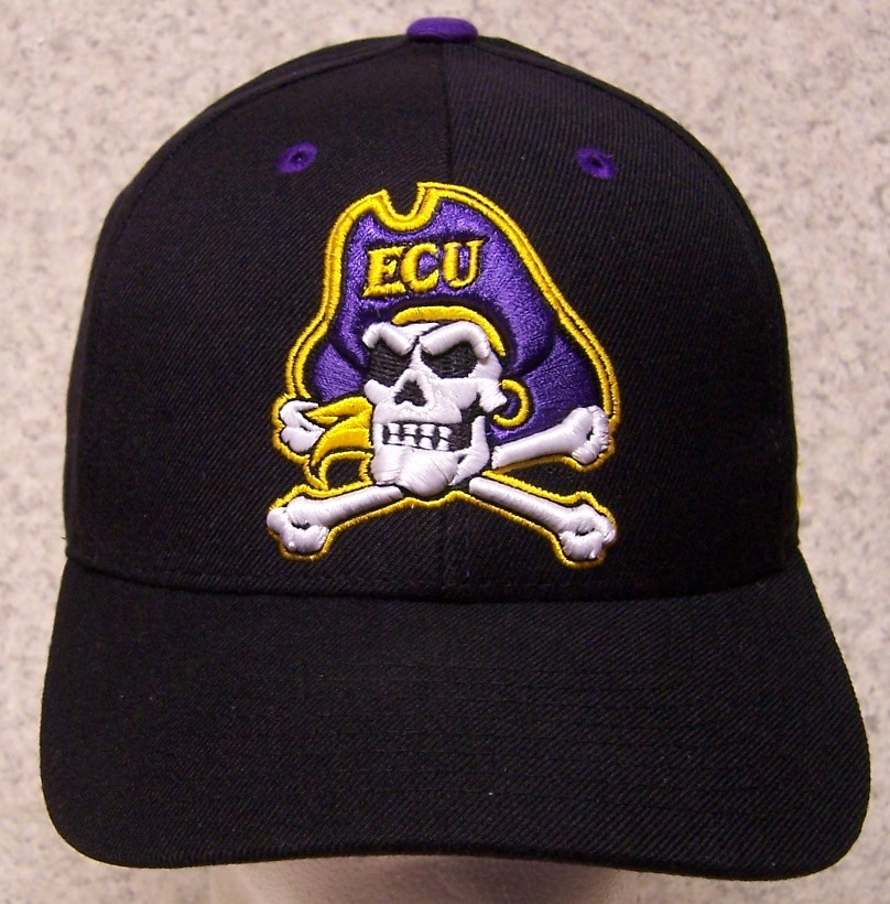 East Carolina Pirates NCAA Adjustable Size National Collegiate Athletic Association Baseball Cap thumbnail