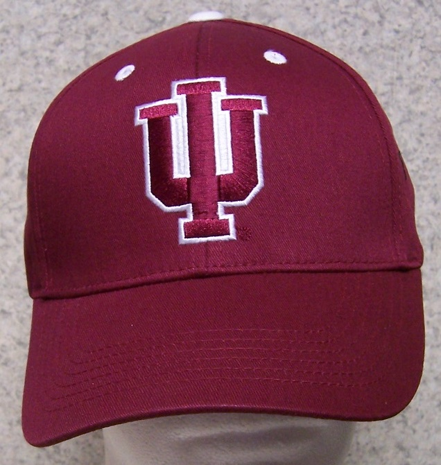Indiana Hoosiers NCAA Adjustable Size National Collegiate Athletic Association Baseball Cap thumbnail
