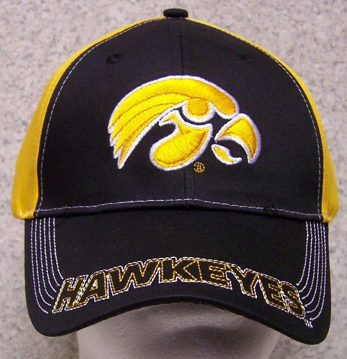Iowa Hawkeyes NCAA Adjustable Size National Collegiate Athletic Association Baseball Cap thumbnail