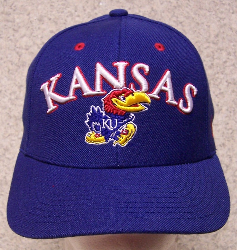 Kansas Jayhawks NCAA Adjustable Size National Collegiate Athletic Association Baseball Cap thumbnail