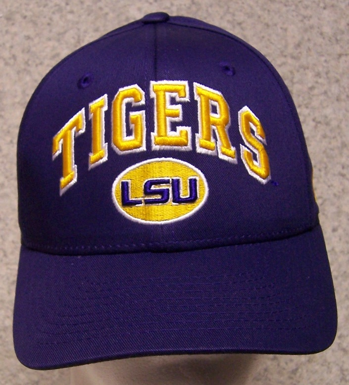 LSU Louisiana State Tigers NCAA Adjustable Size National Collegiate Athletic Association Baseball Cap thumbnail