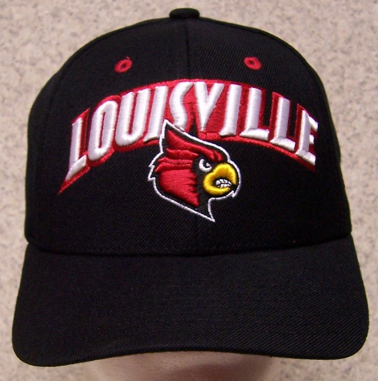 Louisville Cardinals NCAA Adjustable Size National Collegiate Athletic Association Baseball Cap thumbnail