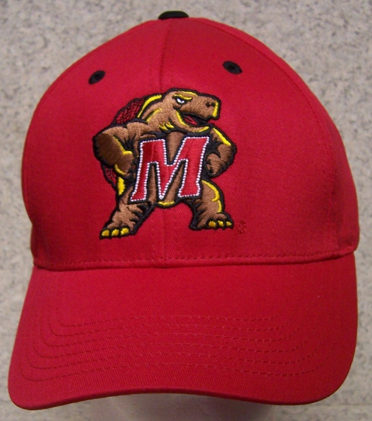 Maryland Terrapins NCAA Adjustable Size National Collegiate Athletic Association Baseball Cap thumbnail