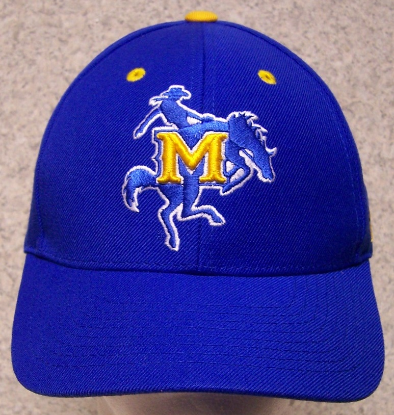 embroidered baseball cap ncaa mcneese state cowboys new 1