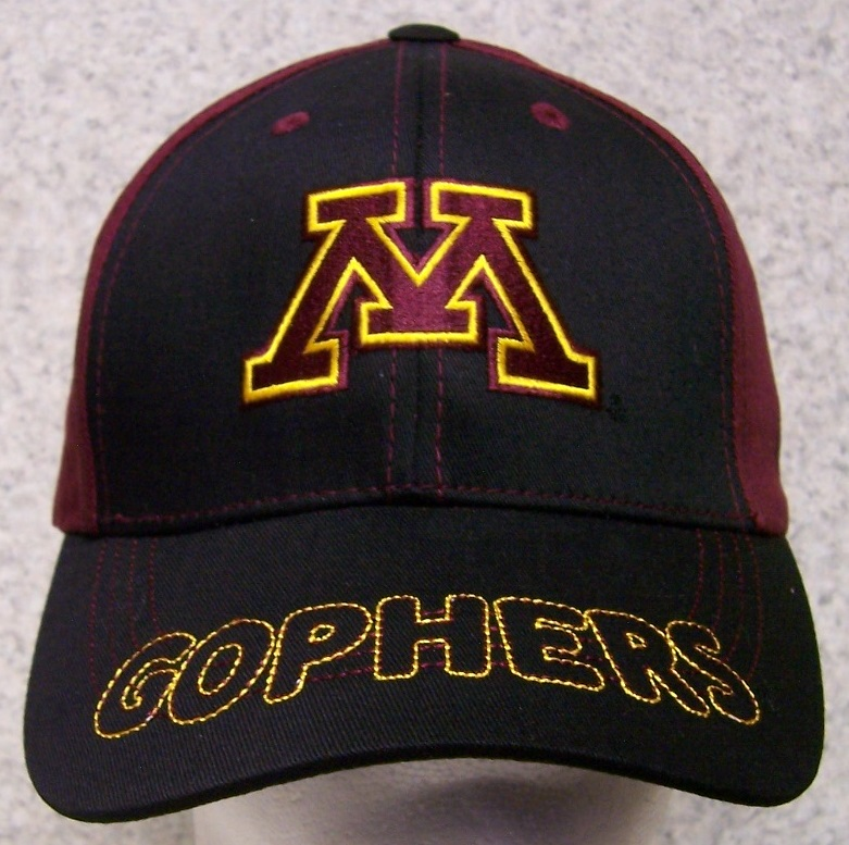 Minnesota Golden Gophers NCAA Adjustable Size National Collegiate Athletic Association Baseball Cap thumbnail