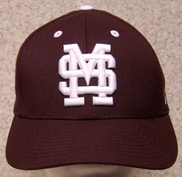 Mississippi State Bulldogs NCAA Adjustable Size National Collegiate Athletic Association Baseball Cap thumbnail