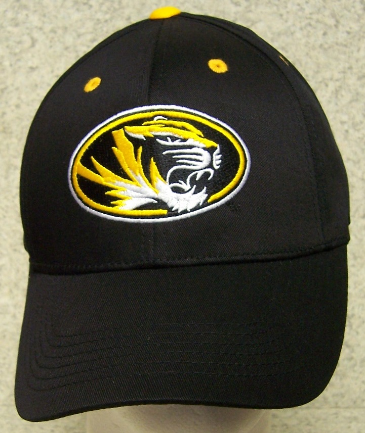 Missouri Mizzou Tigers NCAA Adjustable Size National Collegiate Athletic Association Baseball Cap thumbnail