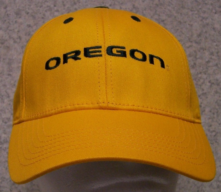 Oregon Ducks NCAA Adjustable Size National Collegiate Athletic Association Baseball Cap thumbnail