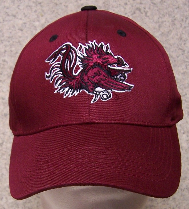 South Carolina Gamecocks NCAA Adjustable Size National Collegiate Athletic Association Baseball Cap thumbnail